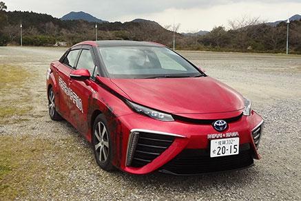 燃料電池車(FCV)試乗会